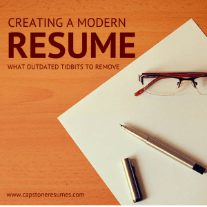 remove-out-dated-tidbits-modern-resume