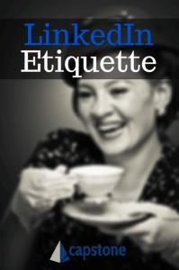 LinkedIn Etiquette Capstone Resumes