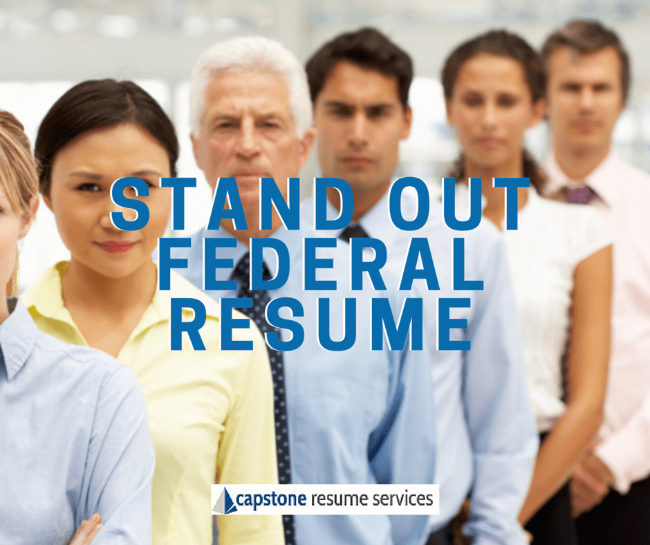 Stand Out Federal Resume