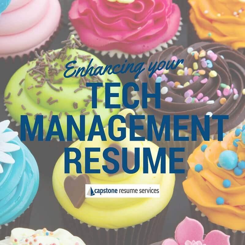 Tech Management Resume Tips