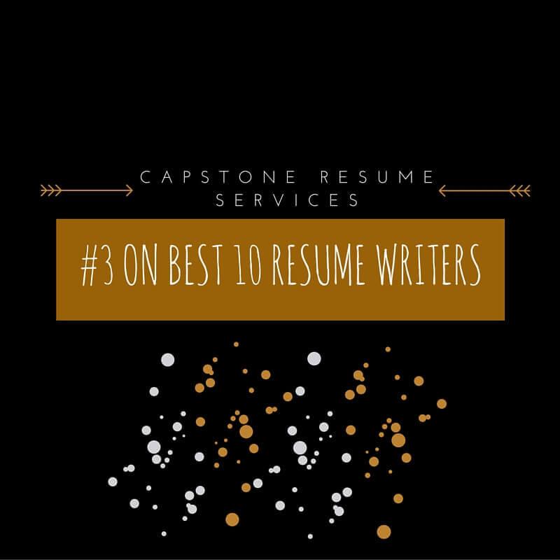 capstone 10 best resume writers