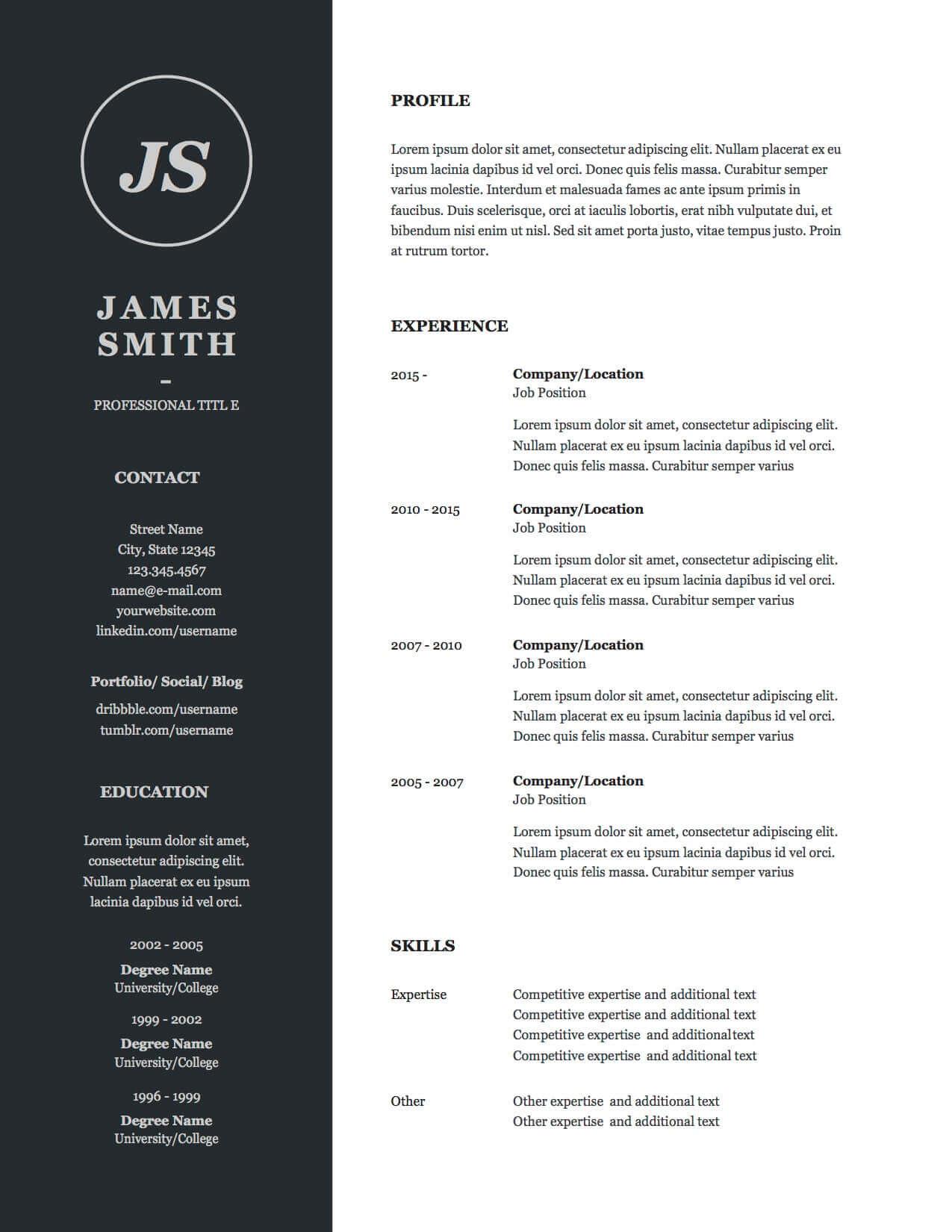 Design 4-Resume p.1