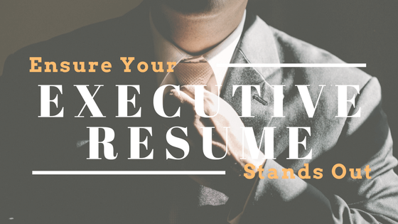executive resume tips